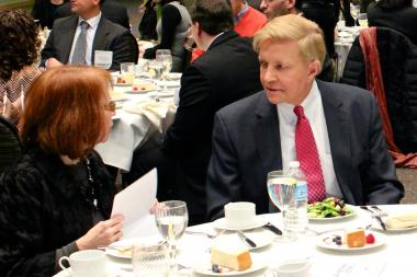 The Lincoln Park Chamber of Commerce hosted Ald. Michele Smith, Ald. Bob Fioretti and Ald. Scott Waguespack to speak at DePaul University Wednesday afternoon.
