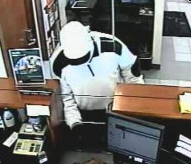 The FBI says this man robbed a North Side bank twice - once on Feb. 1, 2013, and once in December 2012.