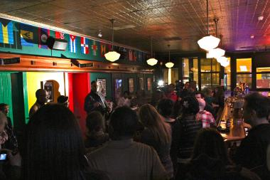 Former reggae artists and fans joined Bishop Larry Trotter at the Wild Hare Friday night to support the club's quest for a live music license.