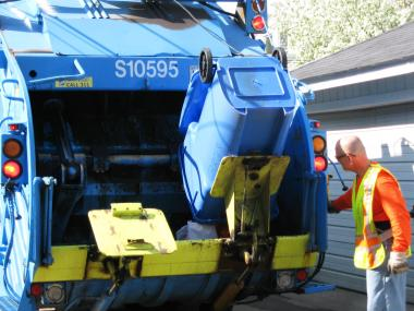 Mayor Rahm Emanuel pledged last year to roll out blue cart recycling citywide.