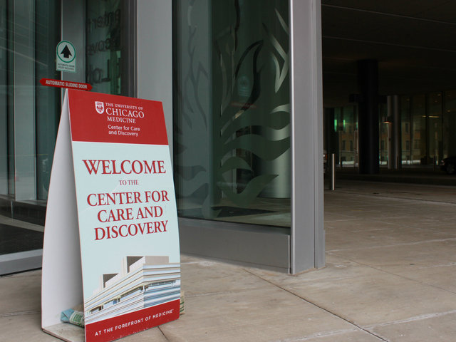 <p>After five years of preparation, the University of Chicago&#39;s Center for Care and Discovery opened to about 150 hematology and oncology patients Saturday.</p>