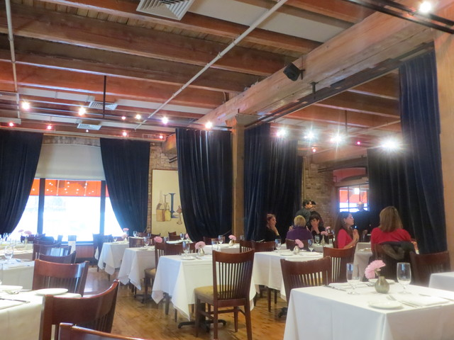 <p>The dining room at Coco Pazzo, 300 W. Hubbard St., now in its 21st year.</p>
