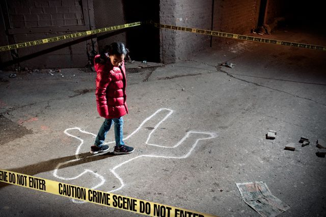 <p>&quot;Crime Scene: A Chicago Anthology.&quot;</p>