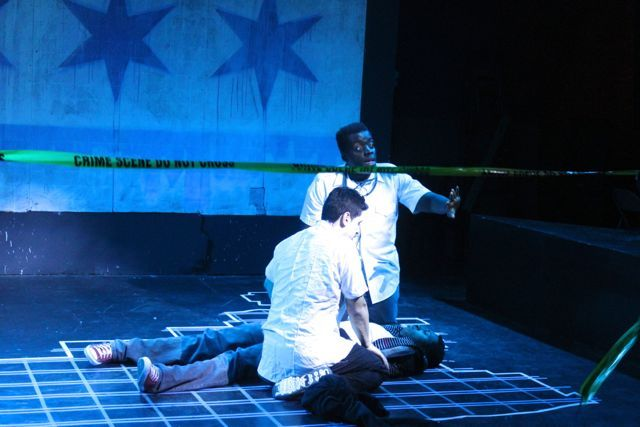 <p>&quot;Crime Scene: A Chicago Anthology&quot; re-enacts three high profile crimes, including the murder of rapper Joseph Coleman aka &quot;Lil Jojo&quot; in September. Actor Scott Baity Jr. plays the role of Coleman in the docudrama.</p>