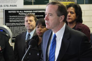 CTA President Forrest Claypool says it would be courting disaster to allow guns on buses and trains.