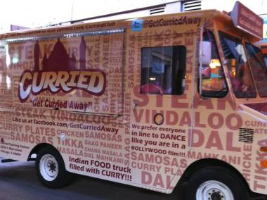 Food truck Wednesday pairs Koval Distillery tours with food on wheels.