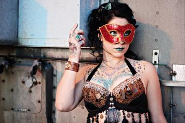 """American Pickers"" star Danielle Colby will come to the Double Door stage March 1, though as Dannie Diesel, when Burlesque le' Moustache presents ""Gospel for the Guilty."""