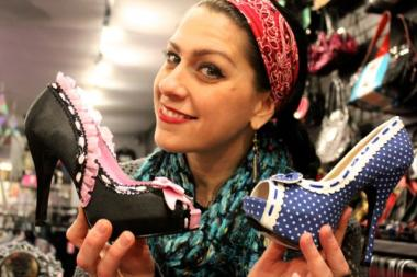 Danielle Colby's 4 Miles 2 Memphis shop is now open at 1734 W. North Ave., adjacent to Broken Cherry. Winter hours for both shops are noon to 7 p.m.