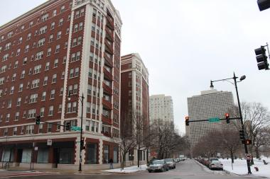 East Hyde Park, with its many elevator buildings east of the Metra tracks, was identified by a Coalition for Equitable Community Development as the least affordable section of the neighborhood.