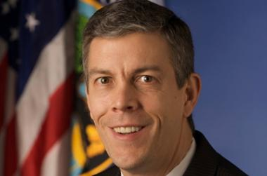 "U.S. Education Secretary Arne Duncan is giving CPS a grant to deal with ""senseless violence."""