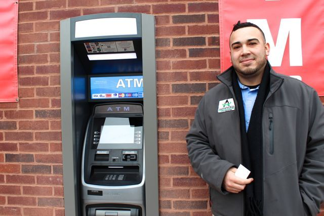 <p>Erik Sierra, 30, an exterminator for a pest control company, said that he would not use the new 24-hour ATM at 1704 N. Milwaukee Ave. after the shops in the strip mall are closed.</p>