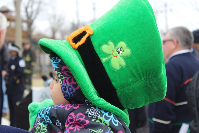 <p>Firefighters, police and their families have been named Grand Marshal for the 35th annual South Side Irish Parade.</p>