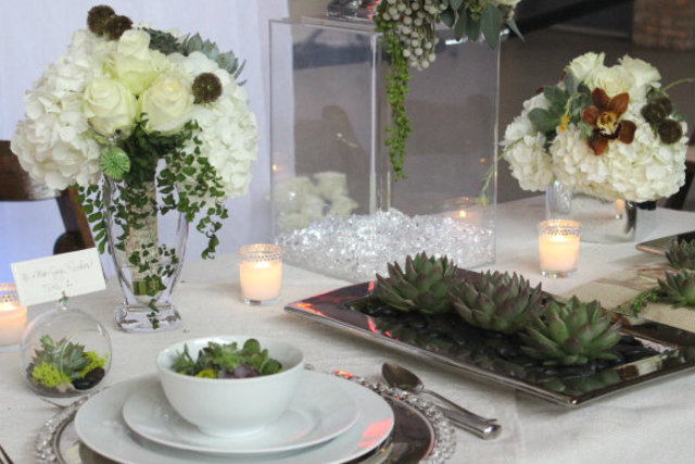 <p>Succulents were a definite trend for wedding flowers at Indie Wed.</p>