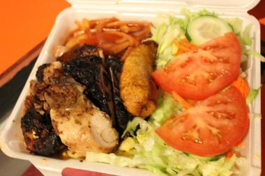 At Campbell's Caribbean Cuisine in Calumet Heights, jerk chicken dinners are often requested by customers, according to Dee Campbell, who founded the restaurant in 2008.
