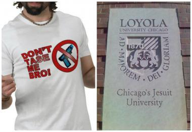 Loyola University plans to propose arming the school's campus police force with up to 20 stun guns.