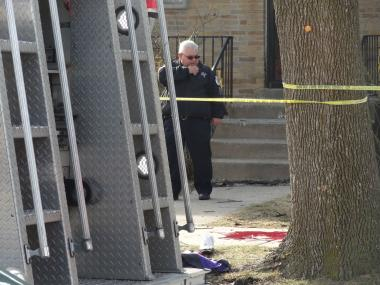 A man was shot in the stomach about 2:30 p.m. Wednesday in the 9500 block of South Clyde Avenue, police said.