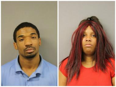 Matthew Casey, 23, and Kimberly Adams, 28, both of the 1700 block of West 80th Street, are accused for forcing two teen girls into prostitution.