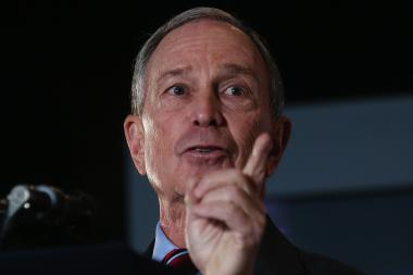 "New York City Mayor Michael Bloomberg was unapologetic about taking a prominent role in the 2nd Congressional District race, saying, ""I'm part of the public. I happen to have some money."""