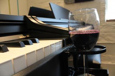 Rapper and pianist John Cordogan recently started The Musical U, a music studio that offers group BYOB piano lessons.