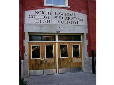 North Lawndale College Preparatory Charter High School is one of the schools placed on a new warning list by CPS because of underperformance.