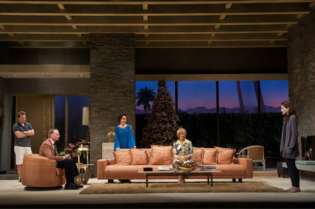 <p>This production shot shows the set of the Goodman Theatre&#39;s &quot;Other Desert Cities&quot; by Robin Baitz, directed by Henry Wishcamper.<br /> 	&nbsp;</p>