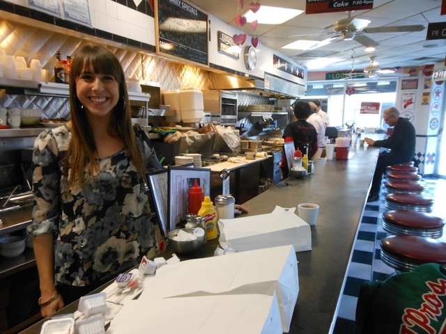 <p>Christina Lemperis is poised to take over the family business at Palace Grill, 1408 W. Madison St.</p>