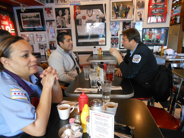 <p>The Palace Grill, 1408 W. Madison St., is popular with Chicago Police.</p>