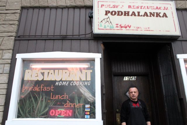 <p>Podhalanka restaurant at 1549 W. Division St. will be offering paczki for $1 on Fat Tuesday.&nbsp; Greg Jamka, 47, a longtime employee said the restaurant will likely give out free paczki to those who purchase a meal or regular customers.</p>