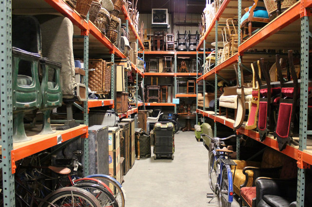 <p>The Scene Shop is home to hundreds of props used in former productions.</p>