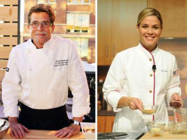 Top Chef winner Rick Bayless and Iron Chef's Cat Cora will be just two of the chefs in an all-star lineup set for the World Culinary Showcase in May.