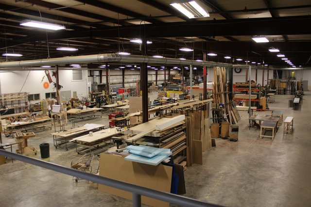 <p>The Goodman Theatre Scene Shop is a 60,000- square-foot warehouse in the city&#39;s Fuller Park neighborhood.</p>