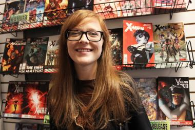 "From Alleycat to Graham Crackers, comic book finatics found a home in a ""comic-loving town."""