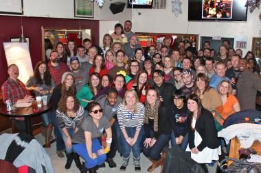 The SKEE League, which counts 175 members, crowned its league champion on Saturday at Glascott's Saloon in Lincoln Park.