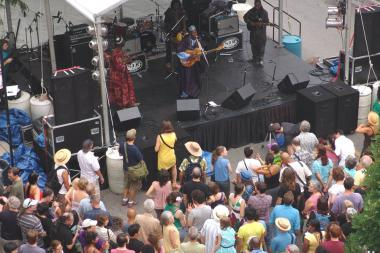 The Square Roots festival will return to Lincoln Square July 12-14.