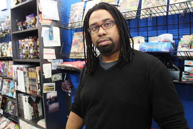 <p>Terry Gant opened Third Coast Comics in 2008.</p>