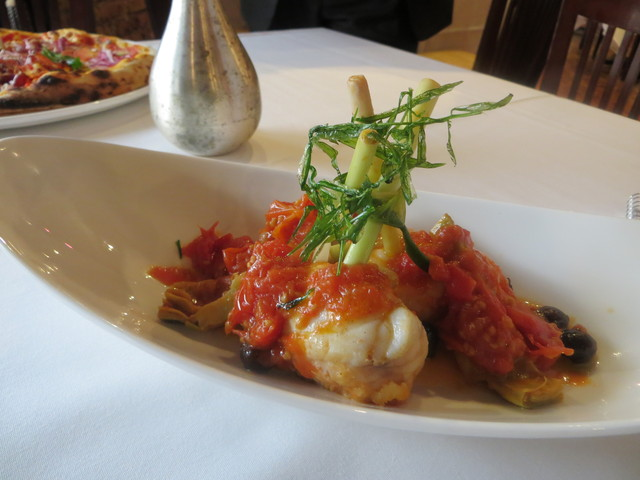 <p>The Roman dishes at Tre Soldi, 212 E. Ohio St., will include Pescatrice in Potacchio, monkfish with artichokes and Gaeta olives in a tomato-rosemary sauce.</p>