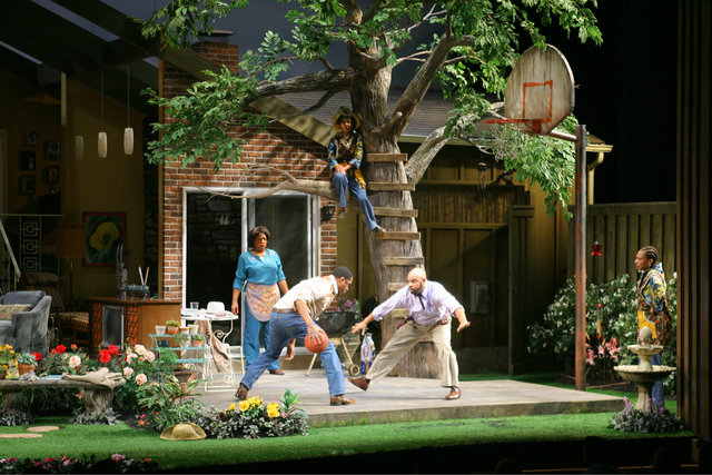 <p>This shot shows the set for Regina Taylor&#39;s &quot;The Trinity River Plays,&quot; directed by Ethan McSweeny.</p>