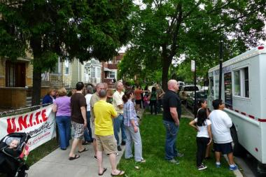 U.N.I.T.E. Civic Association's positive loitering efforts drew crowds — and food trucks — to troubled corners.