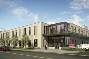 The University of Chicago is consolidating its service and work crews in a new building at 5200 S. Cottage Grove Avenue.