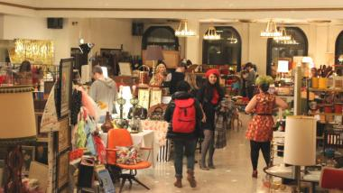 Vintage vendors gather for bazaar at DANK Haus.