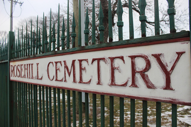 <p>Rosehill Cemetery has been a constant source of controversy in the neighborhood, Ald. Pat O&#39;Connor said.</p>