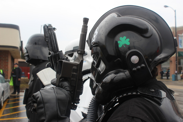 <p>The Sith Lord himself attended this year&#39;s South Side Irish Parade.</p>