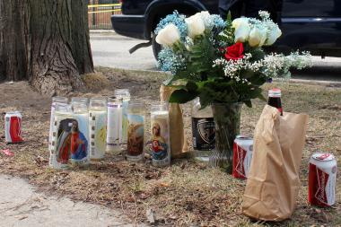 Eugenio Solano, 23, was fatally shot Friday in Logan Square.