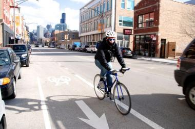 Bike Chicago To Milwaukee protected bike lanes to a