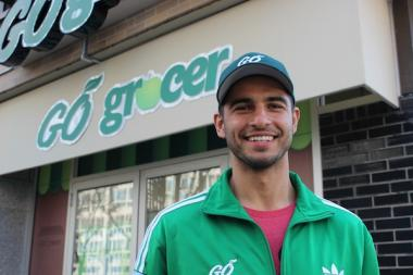 Gregory Stellatos and his brother Paul are opening a third location of store Go Grocer at 2930 N. Sheridan Road.