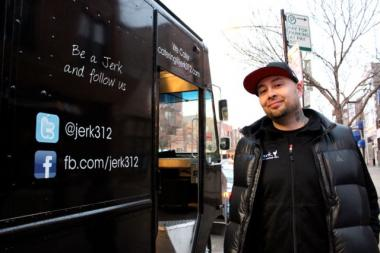 "Dion Solano, whose background is in video game development, started his ""Jerk."" food truck to pay homage to his Jamaican roots."