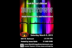'Boystown' Single Release Party