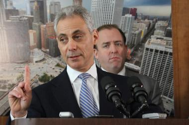 Mayor Rahm Emanuel showed no concern over the Cubs moving or a team-imposed deadline on a deal on signage with rooftop owners.