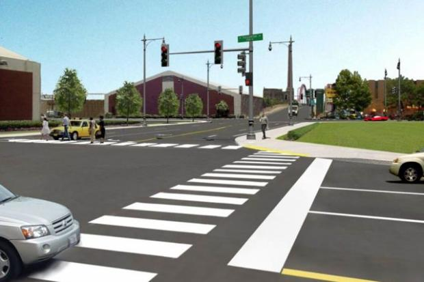 "The city announced Wednesday that it will ""reconfigure"" the Damen-Elston-Fullerton intersection in the fall. Here's some of the proposed renderings."