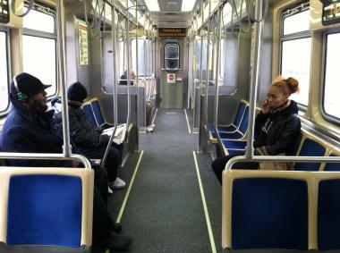 The transit agency is surveying residents about how they sit, stand and ride trains.